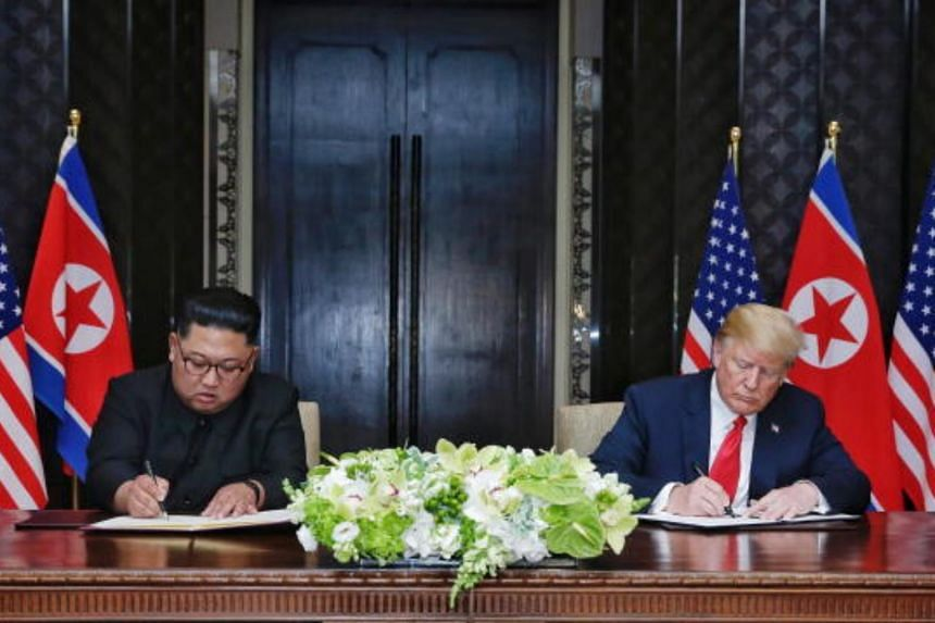 Markets across Asia barely reacted after US President Donald Trump and North Korean leader Kim Jong Un signed an agreement on June 12, 2018.