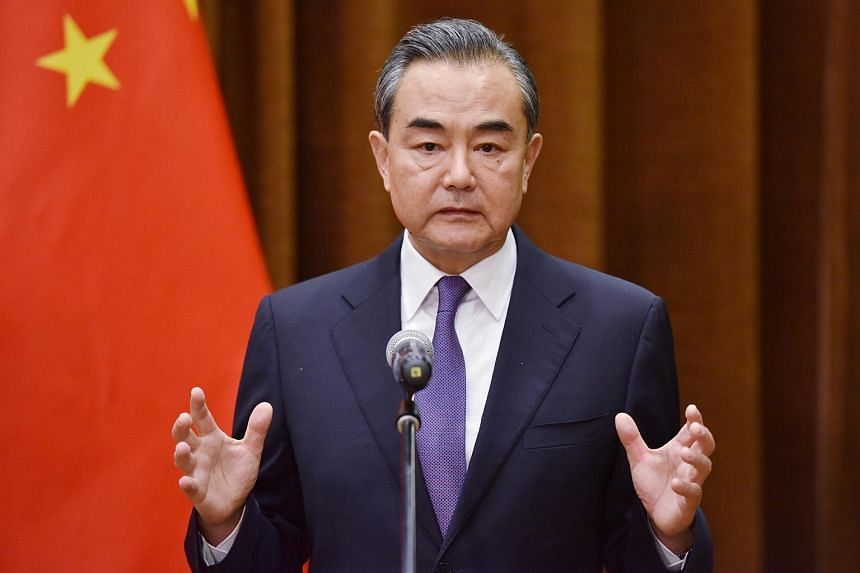 China's State Councillor Wang Yi said Beijing hopes the two countries can reach a basic consensus on achieving denuclearisation.