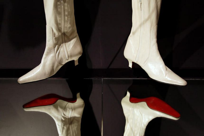 Red soles are a constant feature in shoes manufactured under the Christian Louboutin brand.