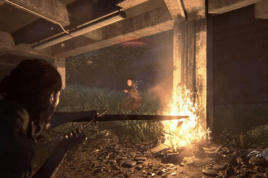 A combat segment in the highly-anticipated Sony exclusive The Last of Us Part II.