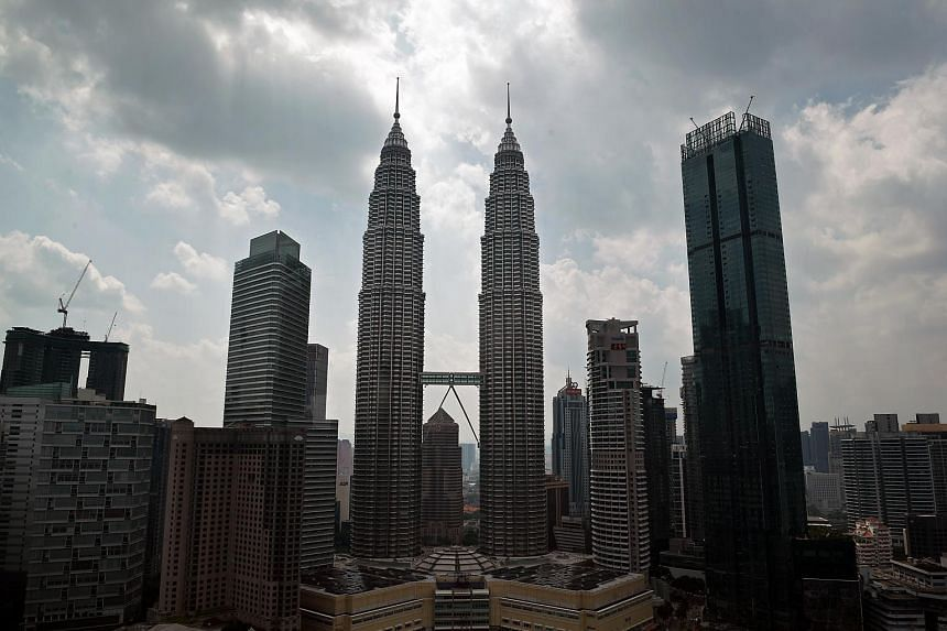 A general view of the city skyline in Kuala Lumpur, Malaysia on May 8, 2018.