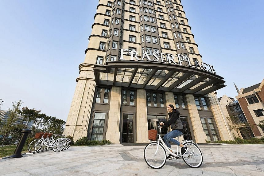 Fraser Place Binhai Tianjin is in the residential neighbourhood of Beacon Hill in the Tianjin Economic-Technological Development Area and offers 224 serviced units, from studios to two-bedders.