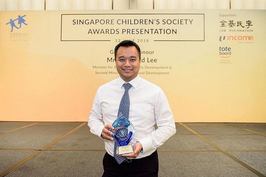 Mr Kurt Wee, 44, received the Ruth Wong Award, given to those who have served the Children's Society for at least 10 years. He helped to raise $106.8 million for the charity since 2008. Mrs Joanna Ang, 63, received the Platinum Service Award, given t