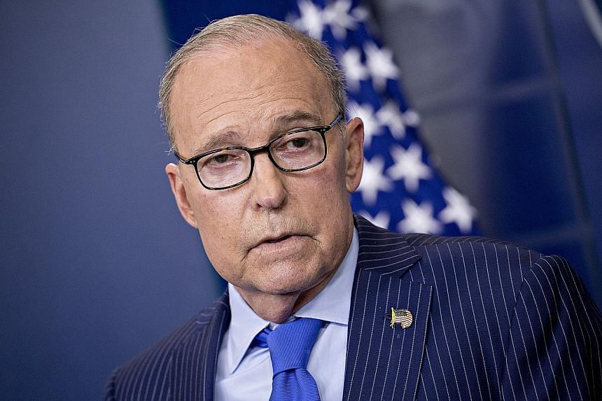 Mr Larry Kudlow has played a key role in the US' ongoing trade talks.