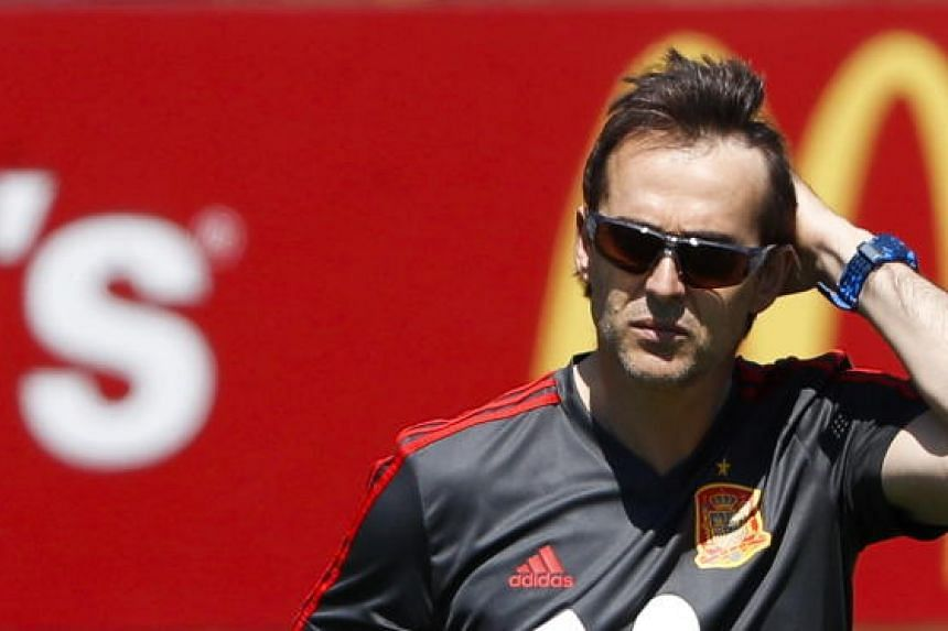 Real Madrid named Julen Lopetegui as their next manager to start work after the tournament in Russia.