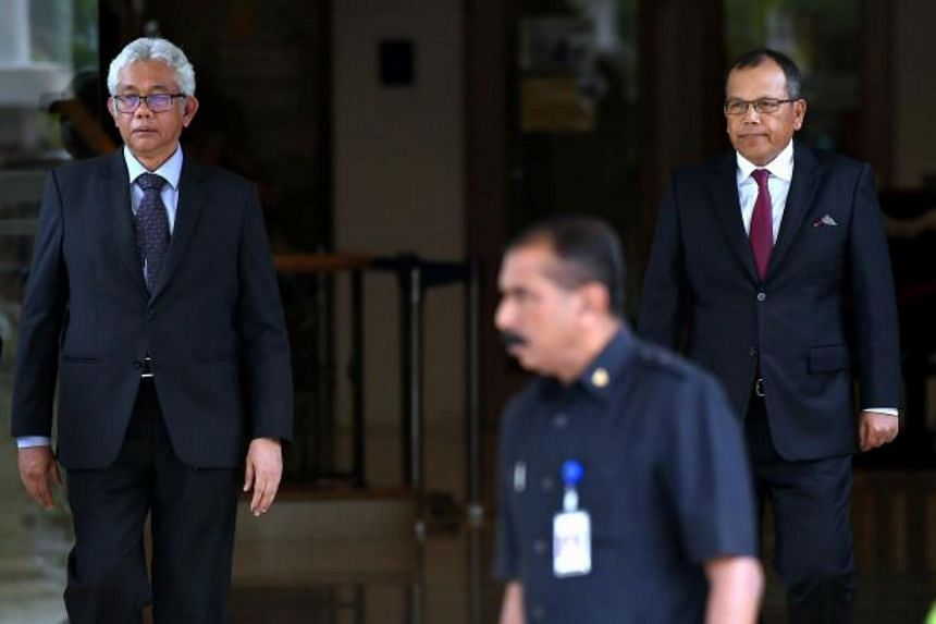 Malaysia's Chief Justice, Tun Raus Sharif (right), and the president of the Court of Appeal, Tun Zulkefli Ahmad Makinuddin, have tendered their resignations, which will take effect on July 31, 2018.