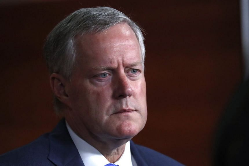 "Representative Mark Meadows (above) said there is ""no deal at this point"" after a 90-minute meeting with House Speaker Paul Ryan and other leading Republicans"
