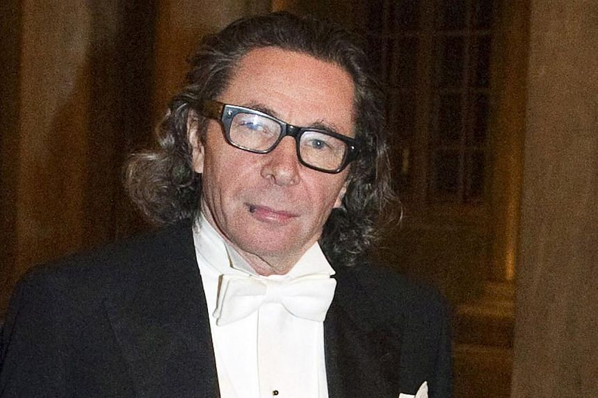 French photographer Jean-Claude Arnault at the Kings Nobel dinner at the Royal Palace in Stockholm, Sweden, on Dec 11, 2011.