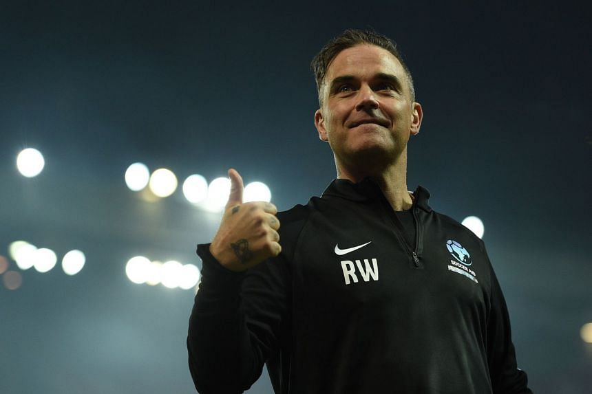 Robbie Williams said that he was asked not to do Party Like A Russian during his World Cup opening ceremony performance.