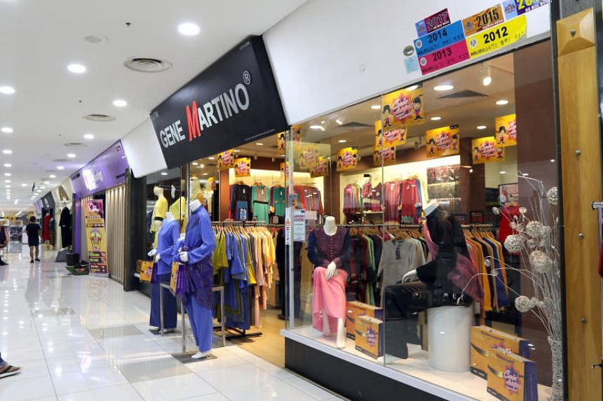 Among the popular spots are Angsana Mall (above), textile shops at UDA Business Centre and various boutiques selling scarves and Muslim apparel.