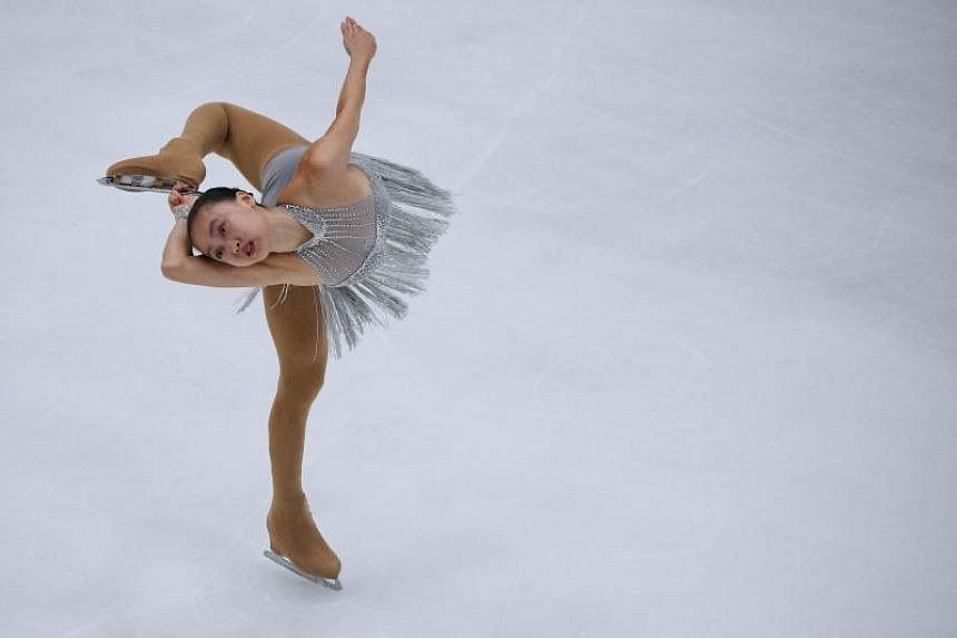 6911c17f59 S pore s first SEA Games figure skating champion Yu Shuran retires at 17  due to neurological disorder