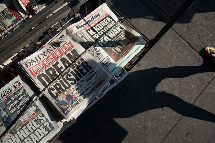 The newspaper industry has been declining for the past decade, and the latest drops suggest deepening woes for the sector.
