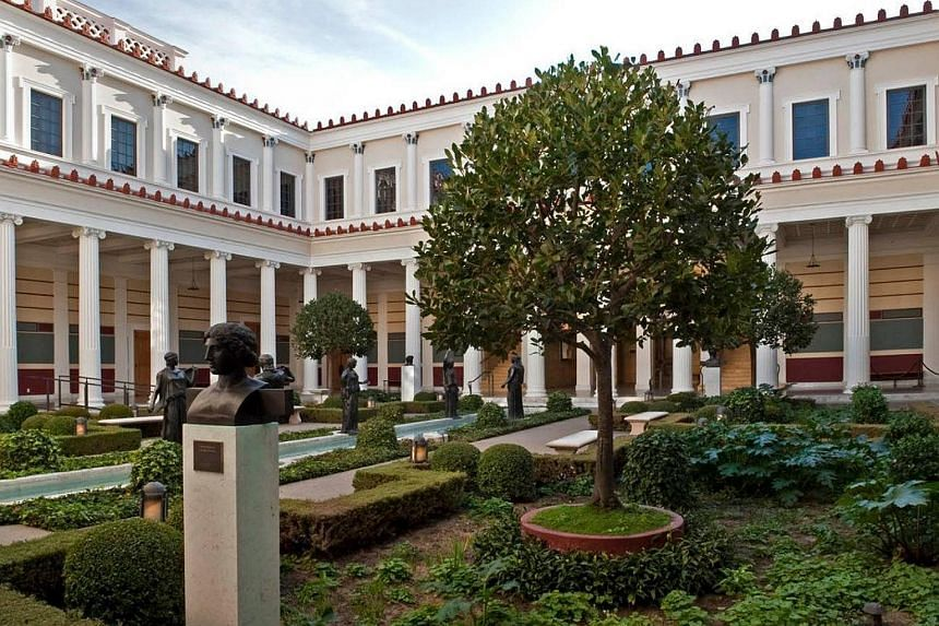 A photo of Getty Villa featured on its Facebook page. An Italian court ruled this month that a statue in the Los Angeles museum belongs to Italy.