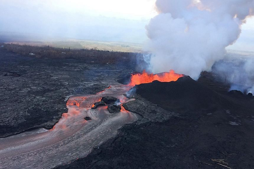 The volcano has produced hundreds of moderate earthquakes since it first began erupting on May 3, 2018.