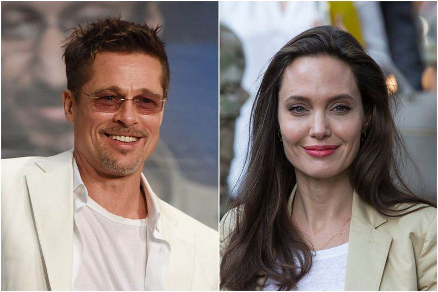 Angelina Jolie (right), 43, and Brad Pitt, 54, separated in September 2016.