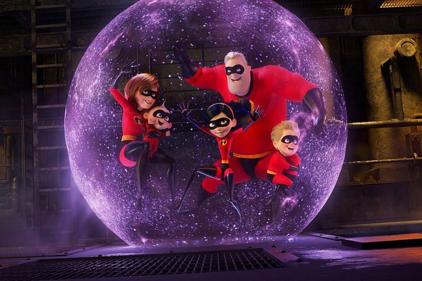 The Parrs are a family of superheroes and the sequel sees the mother, Elastigirl, coming to the fore to fight crime while her husband looks after the kids.