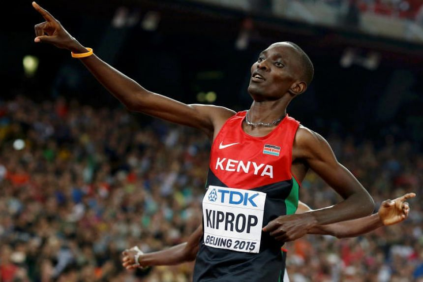 Asbel Kiprop faces a potentially career-ending four-year ban after testing positive for the blood-boosting drug EPO in an out-of-competition test in November 2017.