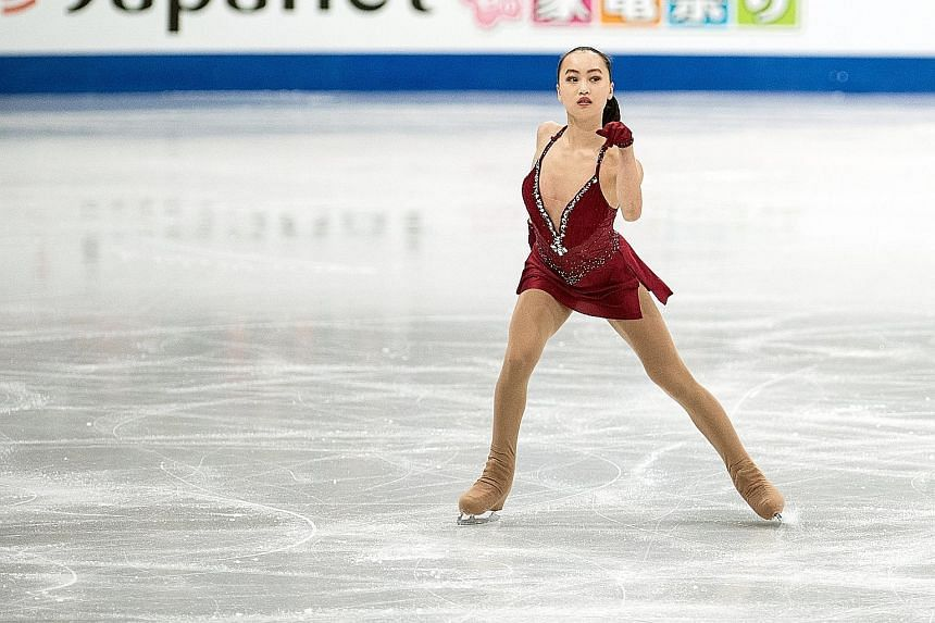 Singaporean Yu Shuran competed at the World Figure Skating Championships in Helsinki in March last year. She went on to win gold at the Kuala Lumpur SEA Games.