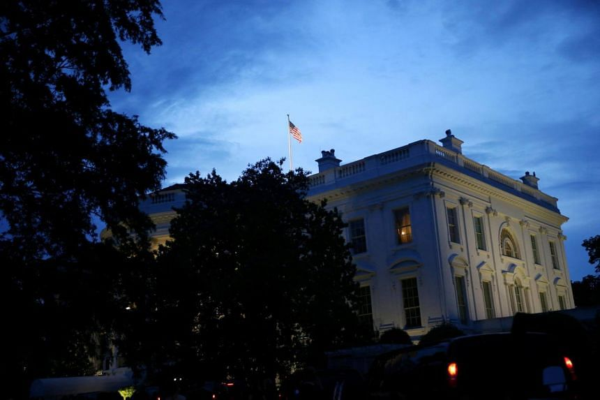 The White House seen in a photo taken on May 22, 2018. White House senior assistant press secretary Kelly Love is set to leave her job on June 15, 2018.