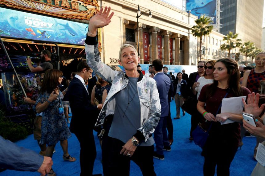 Ellen DeGeneres will visit three US cities over eight nights.