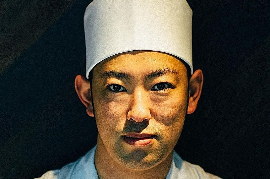 Hashida Sushi (left) was helmed by chef-owner Kenjiro Hashida (above) and was regarded as one of the top Japanese restaurants in Singapore.