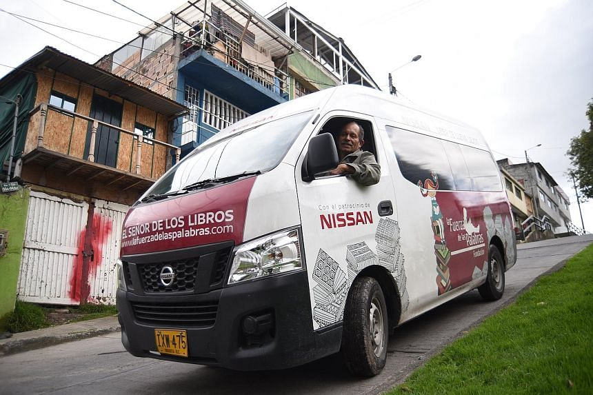 Mr Jose Alberto Gutierrez has spent the last 21 years trying to transform Colombia with the books he rescued daily from the garbage in Bogota. The first floor of his house, in Bogota's popular neighbourhood, La Nueva Gloria, is packed with thousands