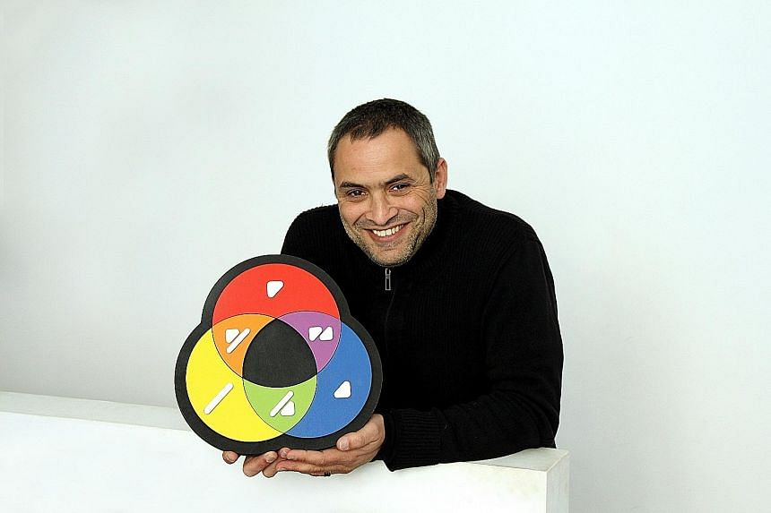 Mr Miguel Neiva, the creator of ColorADD, which is an identification system that allows people who are colour blind to identify different shades and colours in their daily lives.