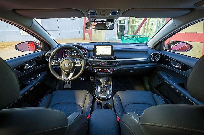 The Kia Cerato is bigger and looks a lot sharper than its predecessor.