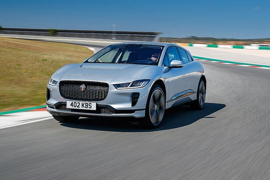 The Jaguar I-Pace has hot-hatch standards of handling prowess despite weighing 2,133kg.