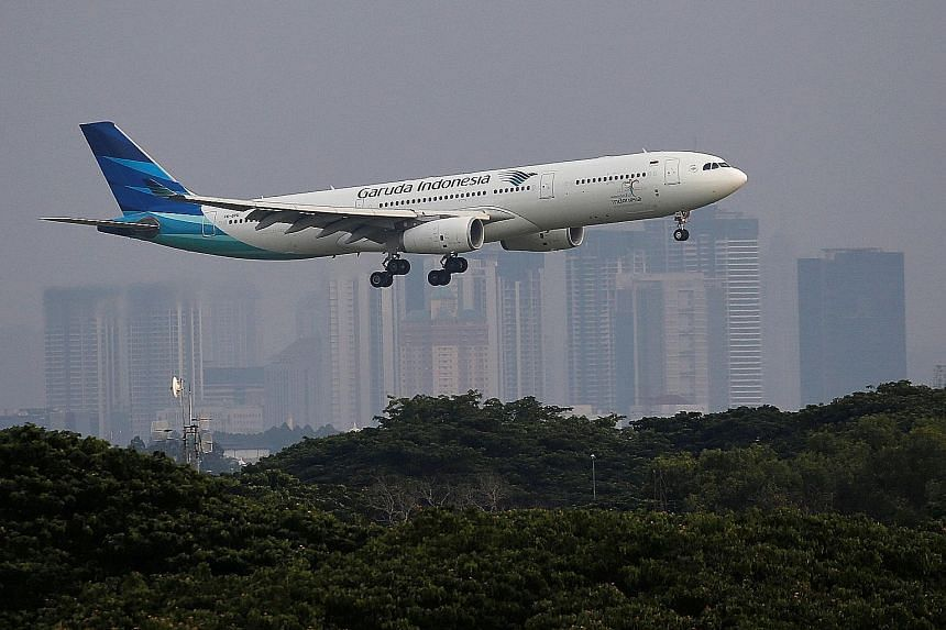 Indonesia-based airlines were banned from flying in EU airspace in 2007.