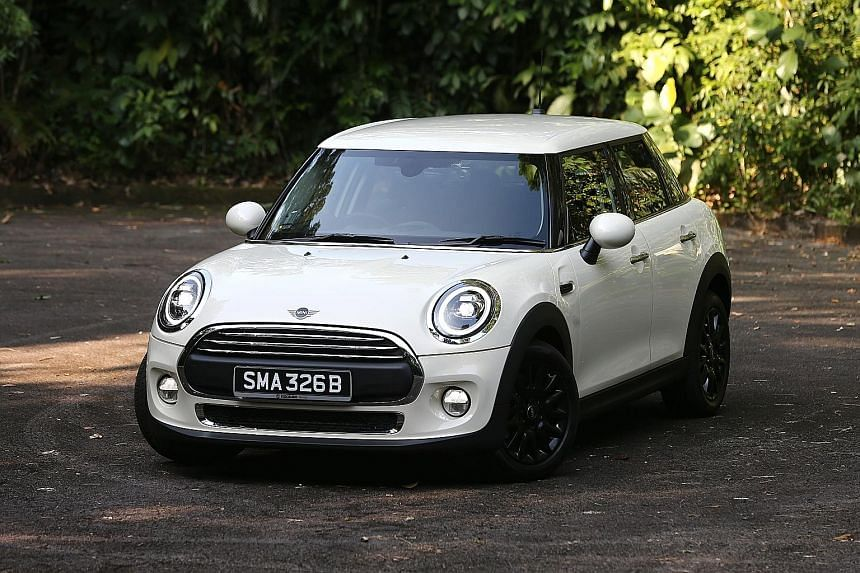 The Mini One 5 Door hugs corners with grace and confidence, with minimum body roll.