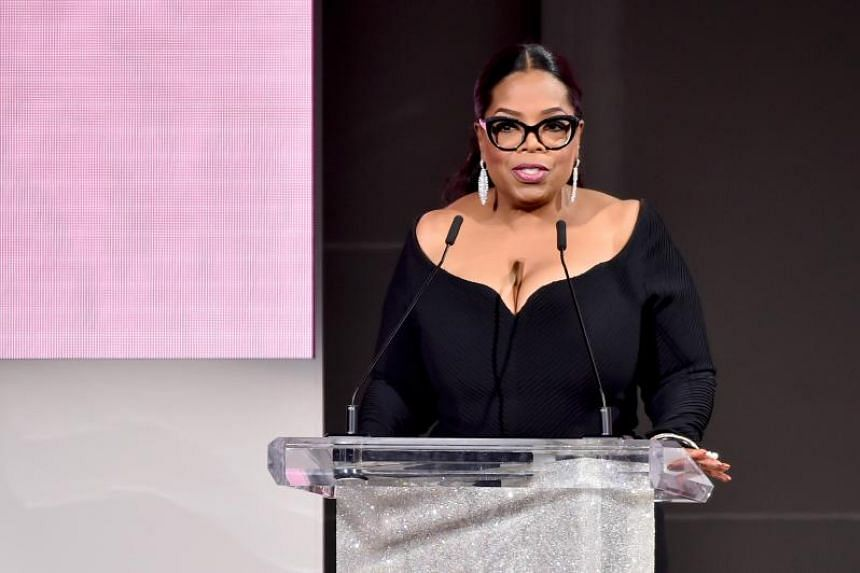 Oprah Winfrey speaks onstage during the 2018 CFDA Fashion Awards at Brooklyn Museum on June 4, 2018 in New York City.
