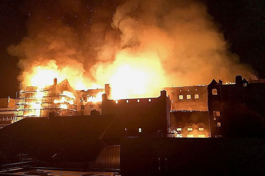 The blaze that tore through the Mackintosh building at the Glasgow School of Art on Friday was the second one in four years. The building was set to reopen next year after millions of pounds in restoration works following the first fire in May 2014.