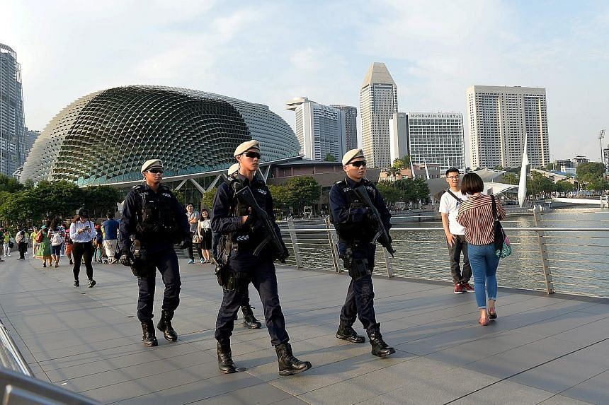 Security was extremely tight during the Trump-Kim summit in Sentosa.
