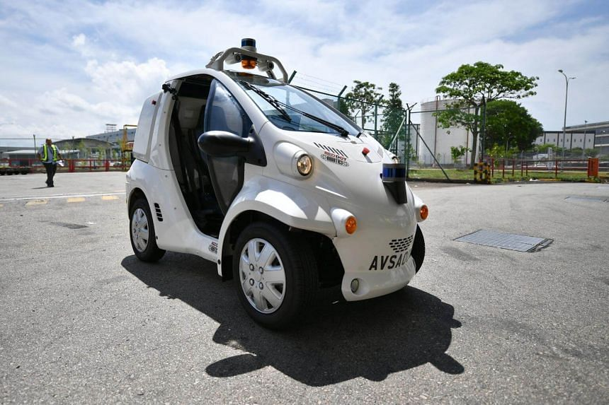 The automation trial hopes to show how airside transport needs can be safely met from a much smaller pool of autonomous vehicles.