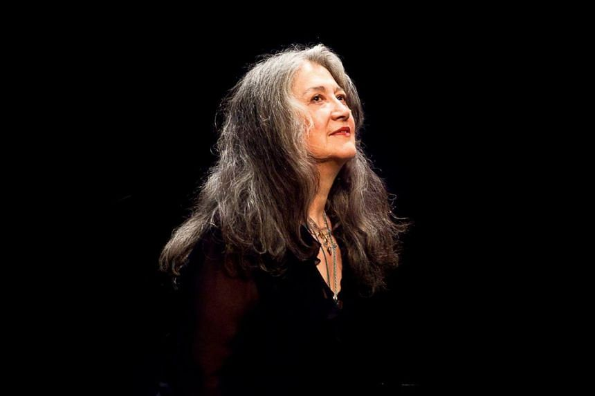 Veteran pianist Martha Argerich's playing shows little sign of slowing down as she heads towards her 80th year.