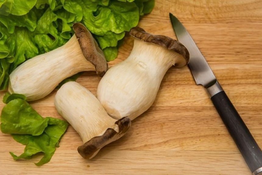 Eryngii mushrooms are also known as King Trumpet or king oyster mushrooms.