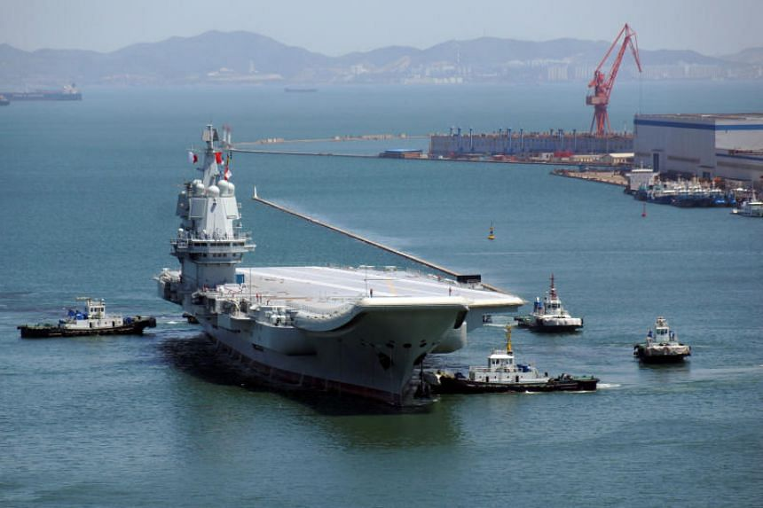 China's anti-graft agency has launched a probe against the general manager of the state-owned firm responsible for building aircraft carriers.