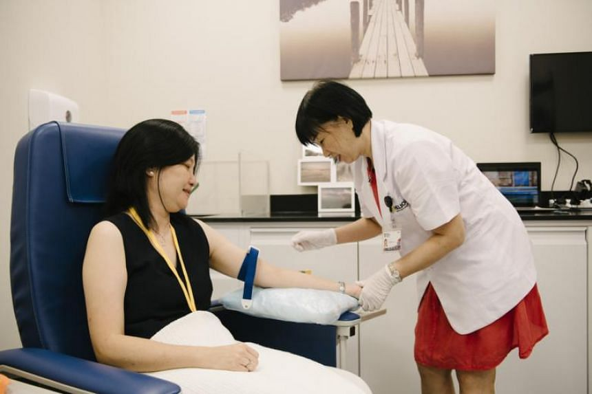 Nanyang Technological University has embarked on a health study that is being conducted in the Population and Community Health Laboratories at the school's Clinical Sciences Building in Novena, which was unveiled on June 18, 2018.