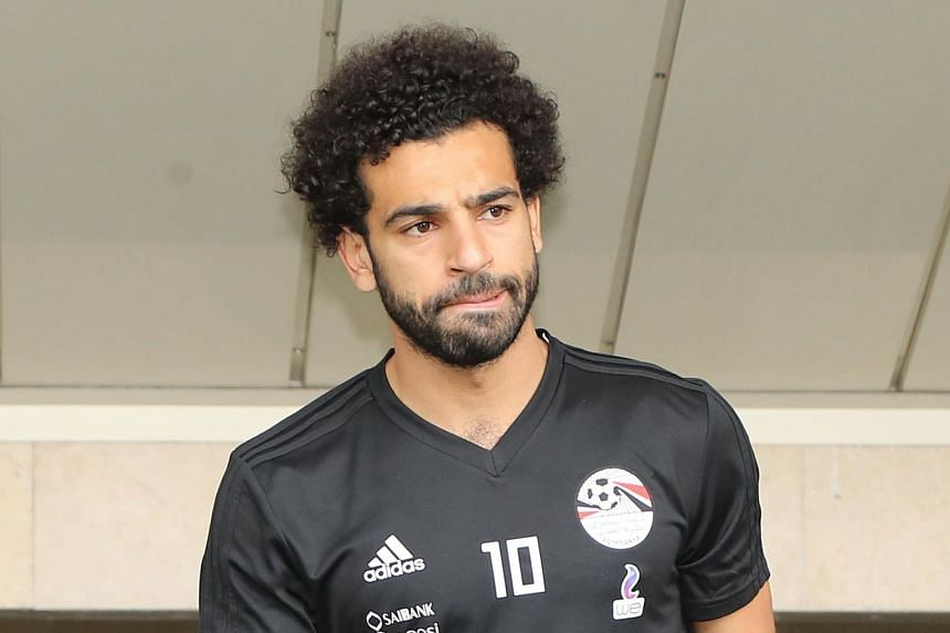 01d674967 Egypt s striker Mohamed Salah is keen to make his debut after missing the  Pharaohs  1