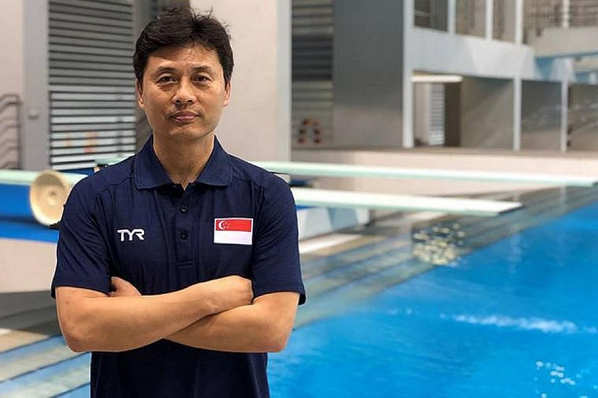 Singapore's new diving coach, former Chinese national champion Li Peng, wants to see a significant improvement in his charges so that some of them can qualify for Tokyo 2020.