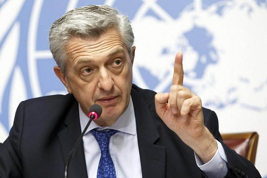 "UN High Commissioner for Refugees Filippo Grandi said governments in many rich countries had adopted ""despicable"" rhetoric on migration, ignoring their duty to help people fleeing war or persecution."