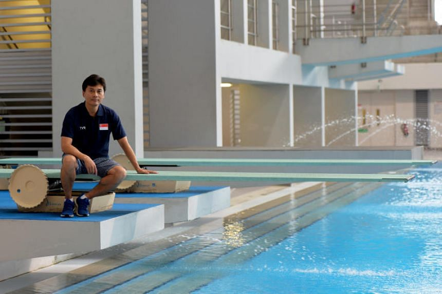 New national diving coach Li Peng says local divers' standards are quite low compared to world-class levels.