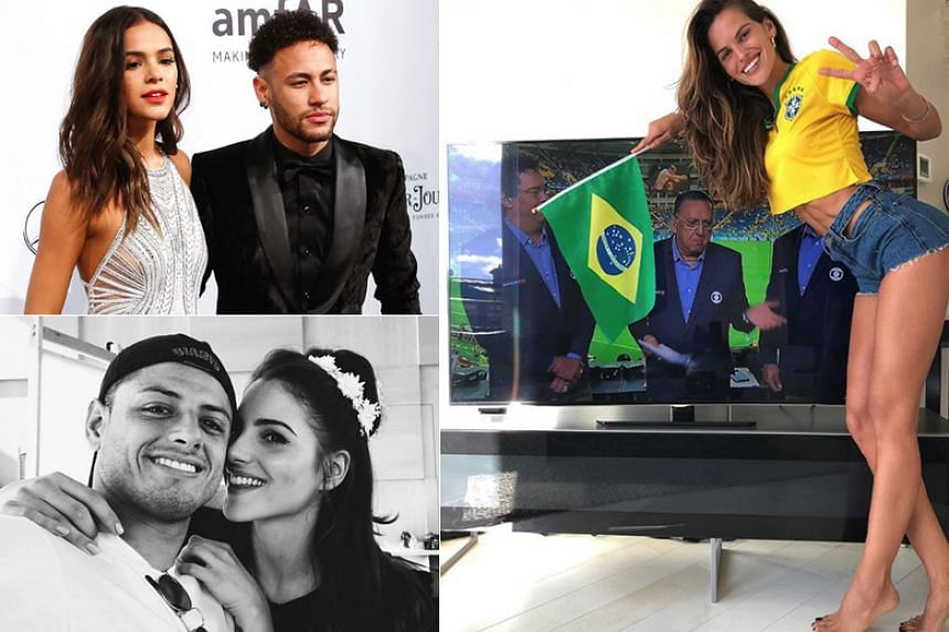 The world's best footballers are in Russia but, while they strut their stuff on the pitch, it is their Wives and Girlfriends (WAGs) who hog the limelight off it.