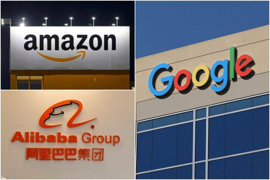"""A study found that more than 50 per cent of high net worth individuals globally are interested in wealth management involving """"Big Tech"""" firms like Amazon, Alibaba and Google."""