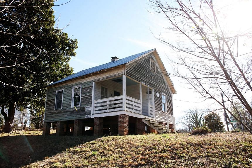 The house where soul legend Nina Simone was born, in Tryon, North Carolina, has been the subject of failed revamps over the years.