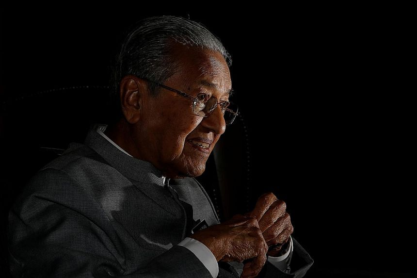 MALAYSIAN PRIME MINISTER MAHATHIR MOHAMAD