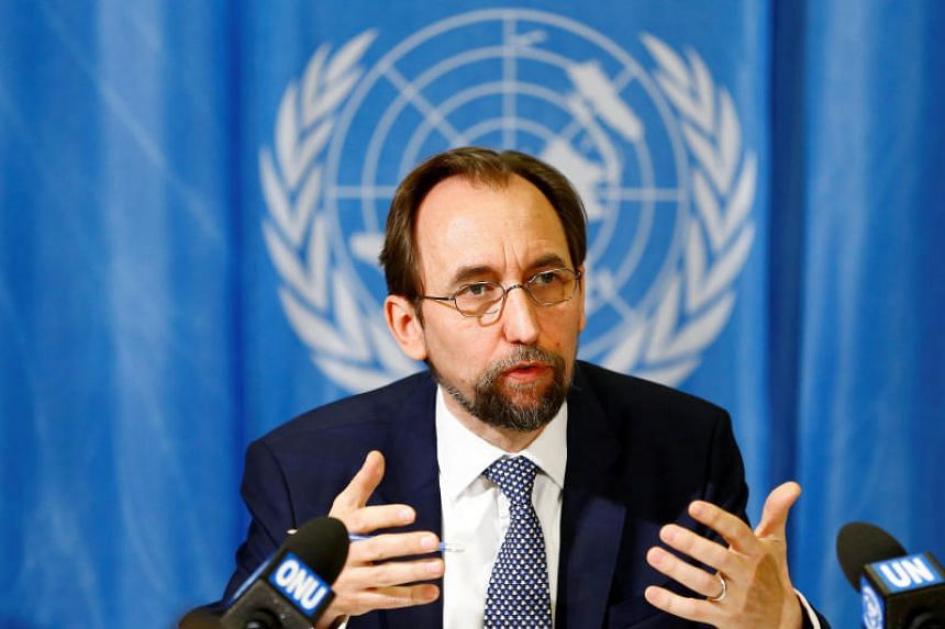 """UN High Commissioner for Human Rights, Zeid Ra'ad al-Hussein, on June 18, 2018, called on Washington to halt its """"unconscionable"""" policy."""