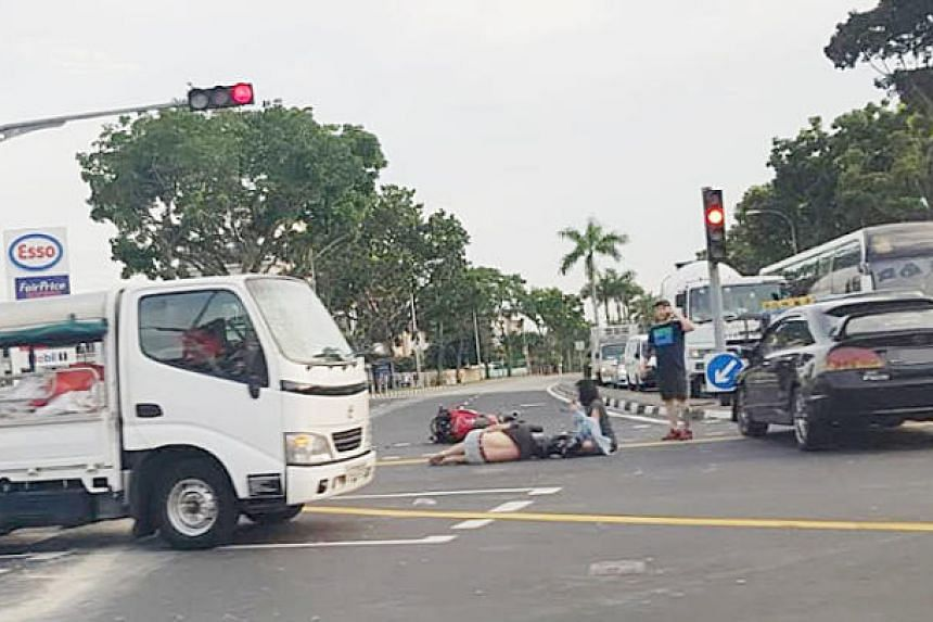 Police were alerted to the accident at around 7.30am on Wednesday (June 20), which took place at the junction of Still Road and East Coast Road.