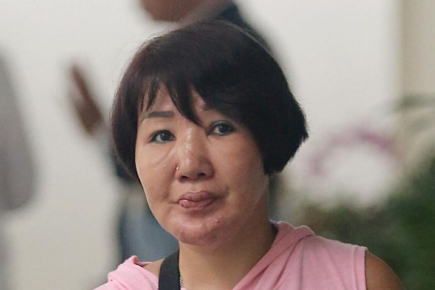 Ms Wendy Tan Li San suffered second-degree burns as a result of the attack for which her former husband Ho Yew Seng was jailed for six months.